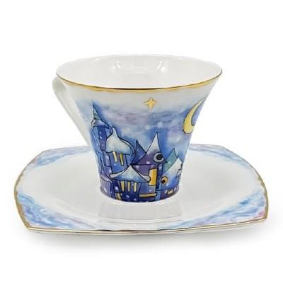 Чайный набор «Зимний город»