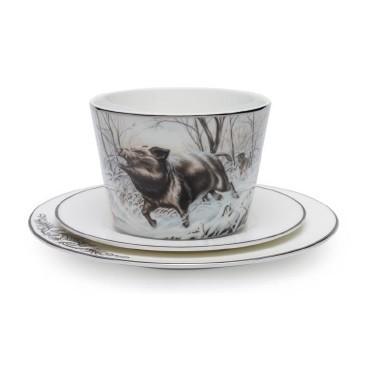 Чайный набор «Охота на кабана»