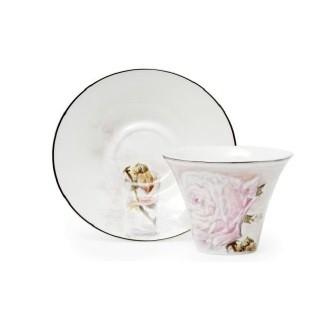 Чайная пара по картине М.Врубеля «Роза»