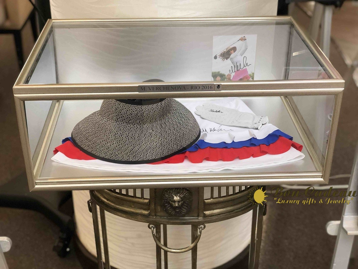 Автограф Марии Верчёнова (шляпа, юбка и перчатка)