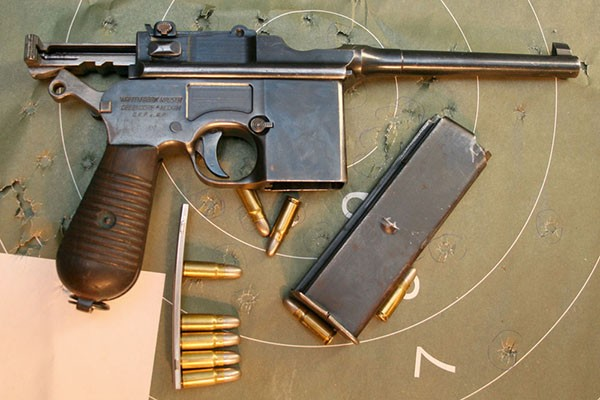 Пистолет Mauser M.712 (автомат 1:2)