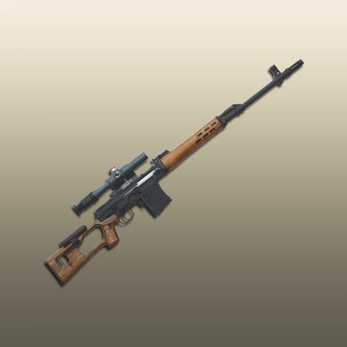 Стреляющая винтовка Драгунова (1:4)