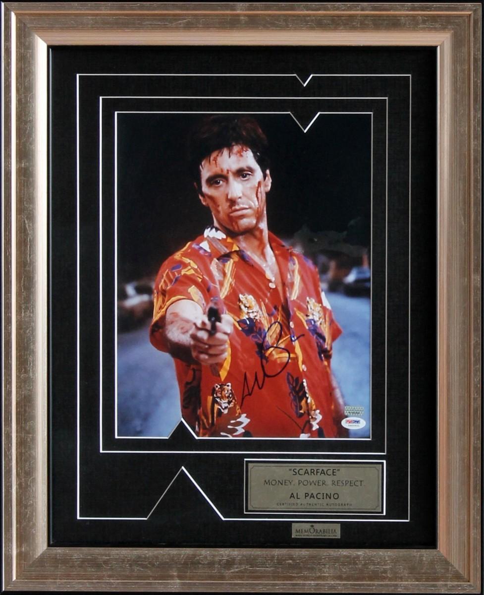 Аль Пачино Scarface (автограф на фото)