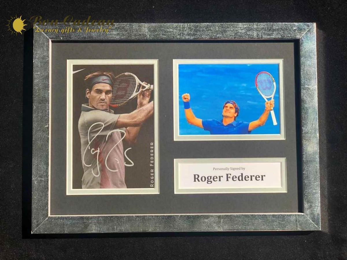 Автограф Роджер Федерер (на фото)