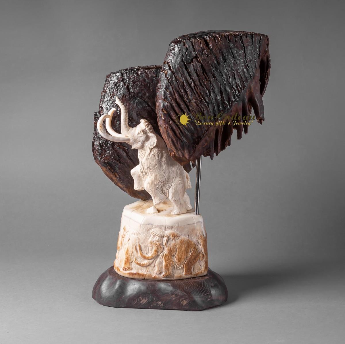 Скульптура Танец мамонта h=46 см