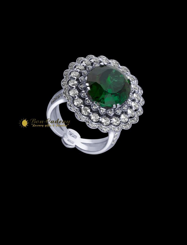 Кольцо «Tourmaline» (турмалин, бриллианты)