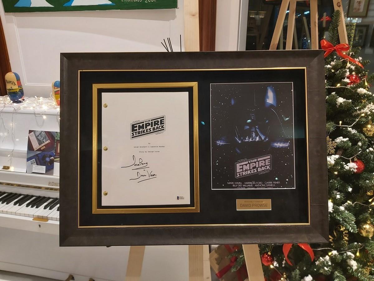 Автограф Дэвид Проуз (сценарий фильма Звёздные войны. Эпизод V: Империя наносит ответный удар)