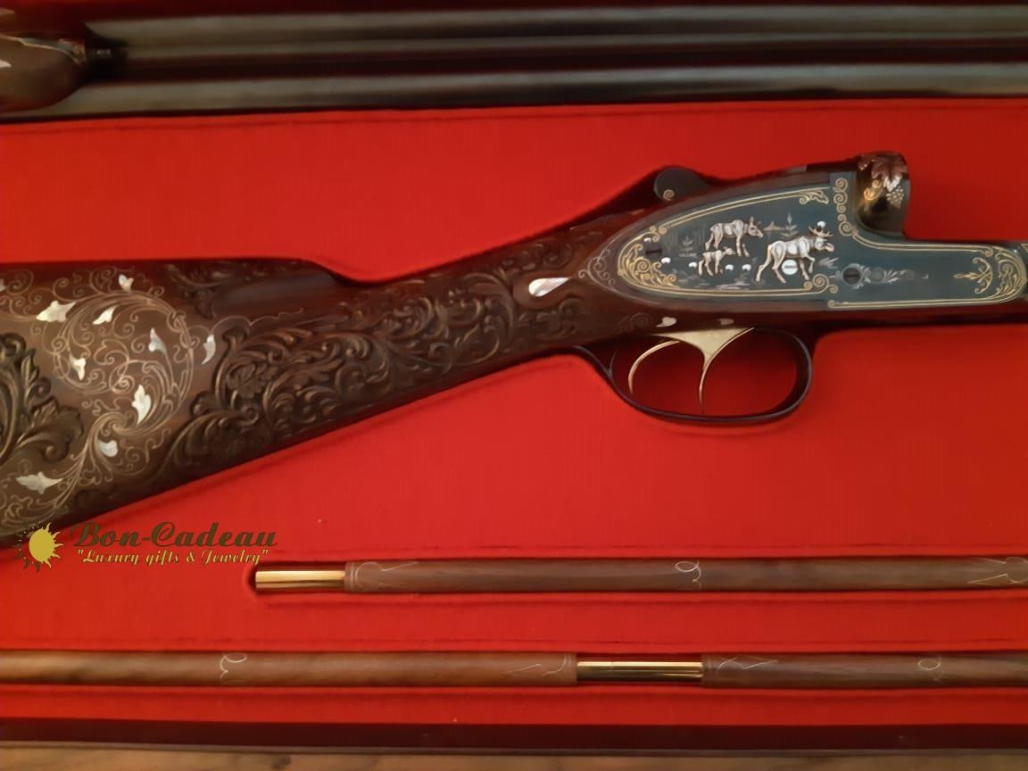 Инкрустированное ружьё высшего разряда МЦ-111