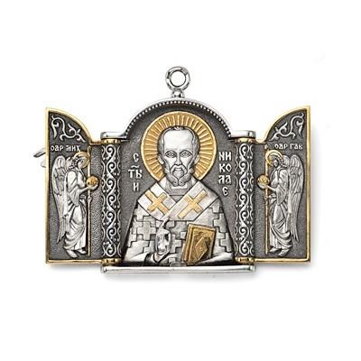 Складень «Святой Николай» малый