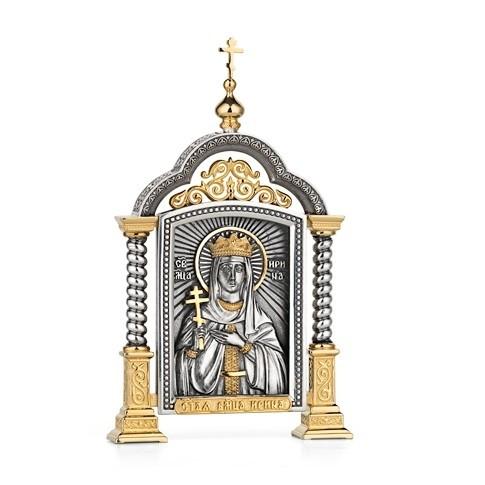 Парадная икона «Святая Ирина»