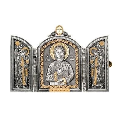 Складень «Святая Ксения»