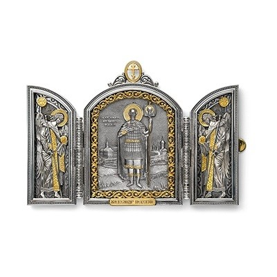 Складень «Святой Александр»