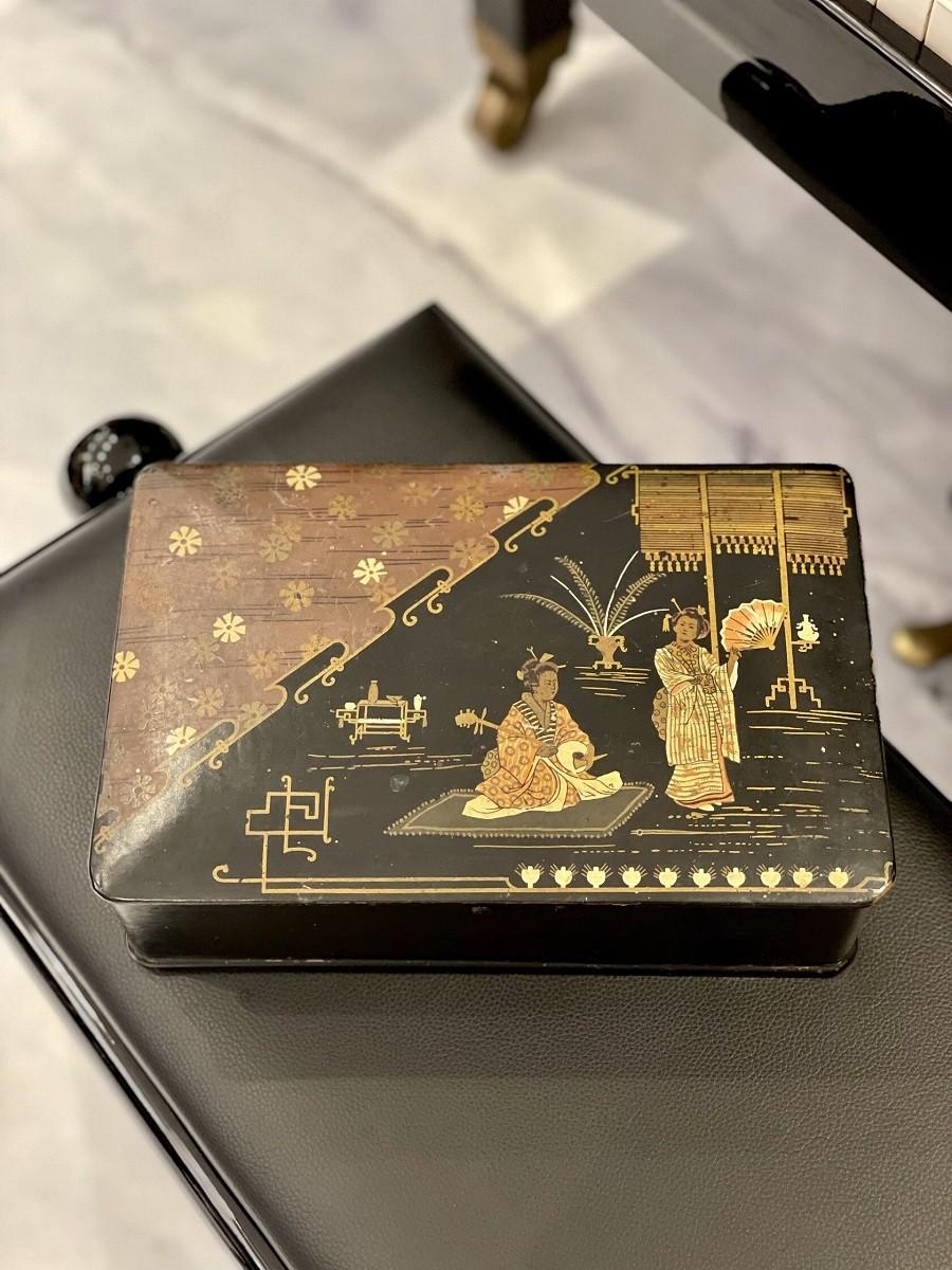 Шкатулка из личной коллекции Ив Сен-Лорана