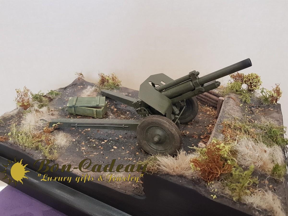 Миниатюрная стреляющая пушка Гаубица