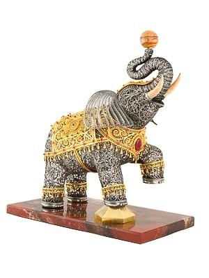Слон из филиграни