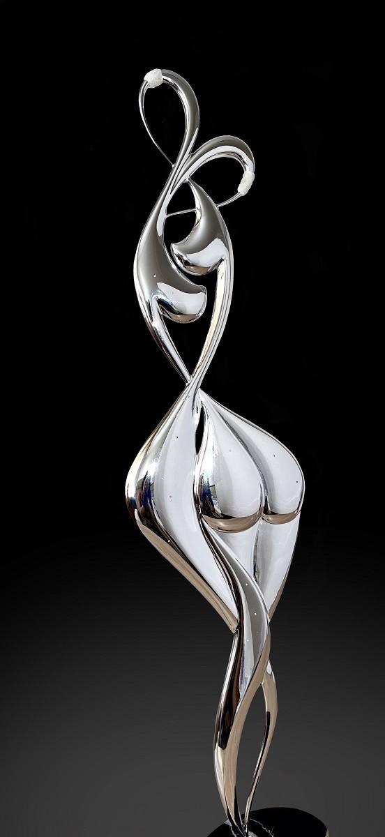 Без табу (h=56 см., алюминий, серебро, бриллианты)