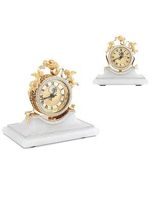 Настольные часы из золота