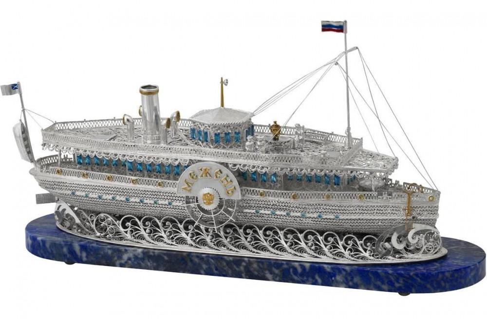 Корабль из филиграни
