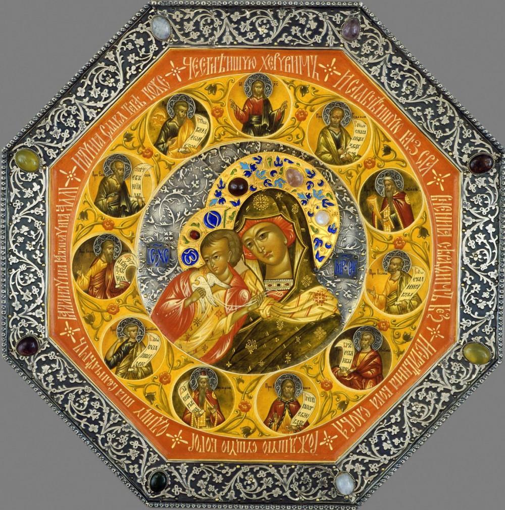 Икона Голубицкой Божьей матери