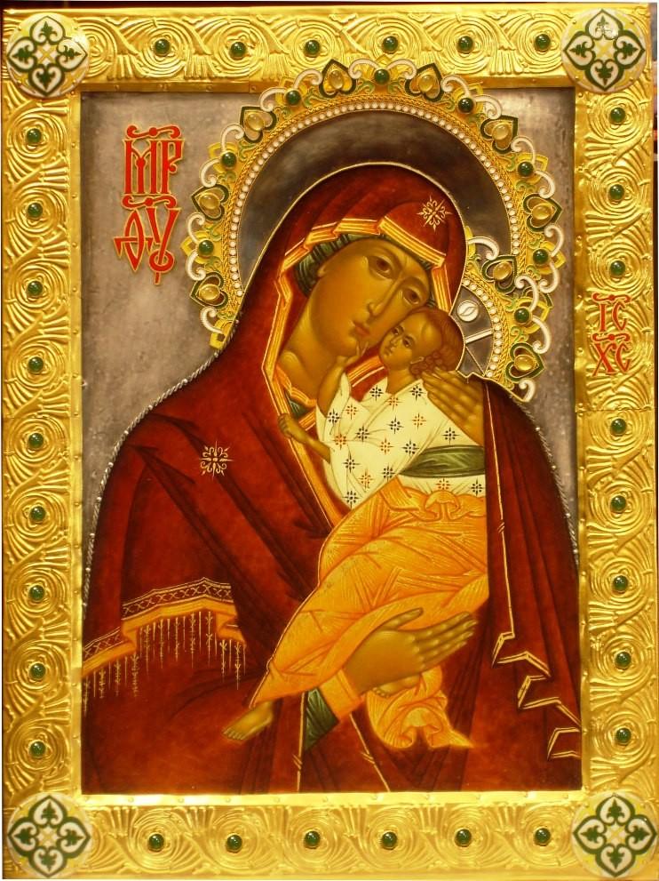Икона Богородица «Умиление»