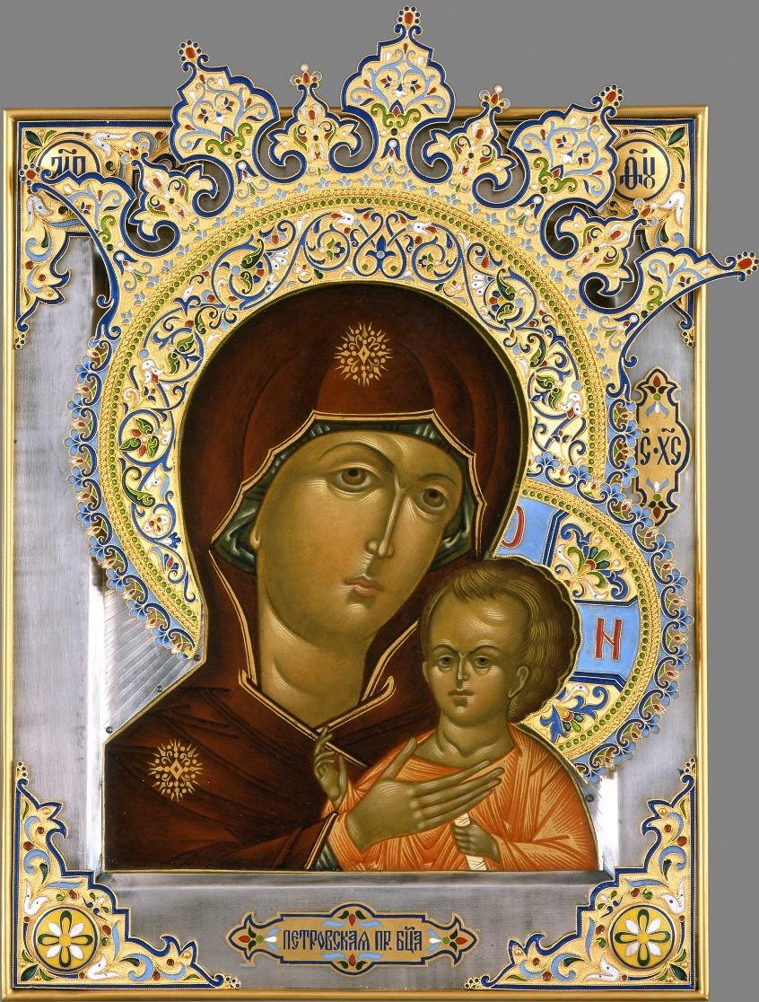 Икона «Петровская Божья матерь»