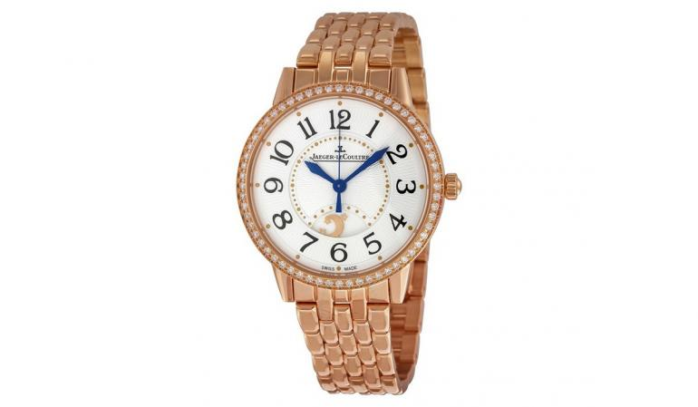Jaeger LeCoultre Rendez-Vous Silver Dial 18kt Rose Gold Ladies Watch