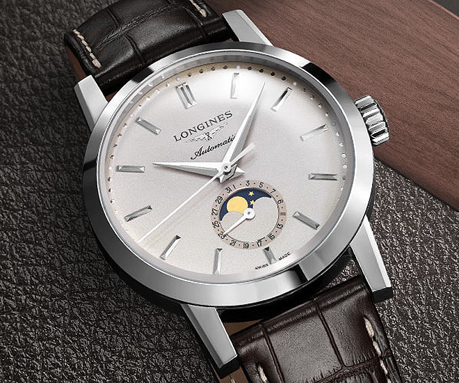 The Longines 1832 Moonphase