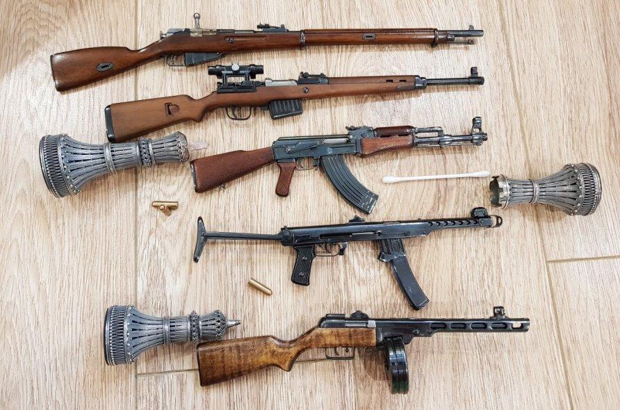 стреляющие миниатюры для ценителей истории ВОВ
